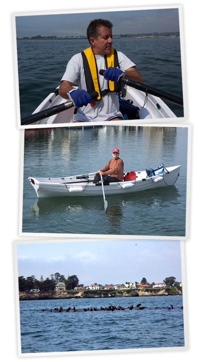 Carlos is proud of his Whitehall Solo - Whitehall Spirit® Solo 14' Slide Seat Rowboat