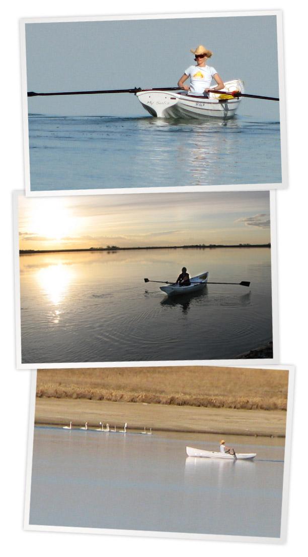 My Sulis Love - Whitehall Spirit® Solo 14' Slide Seat Rowboat