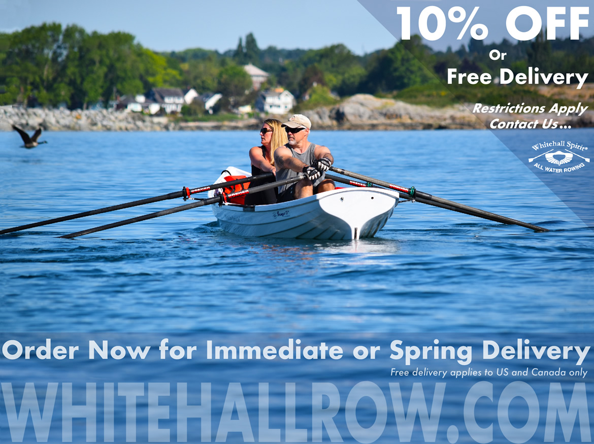 Special Offer October 2017, Whitehall Rowing and Sail, boats