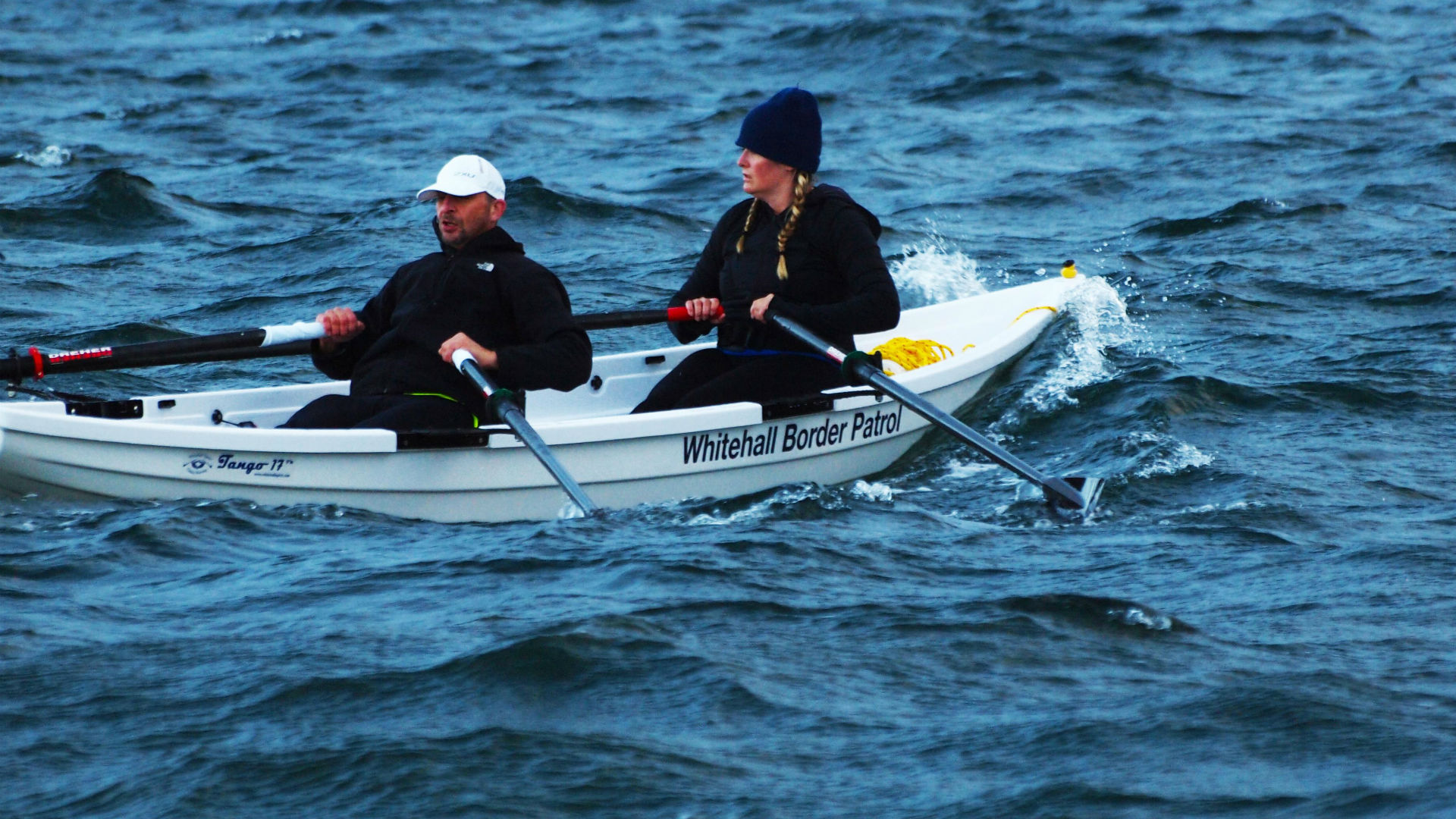 Whitehall - Rowing-and-Sail-Tango-17-Rowboat-Diana-Lesieur-Peter-Vogel-Race-To-Alaska