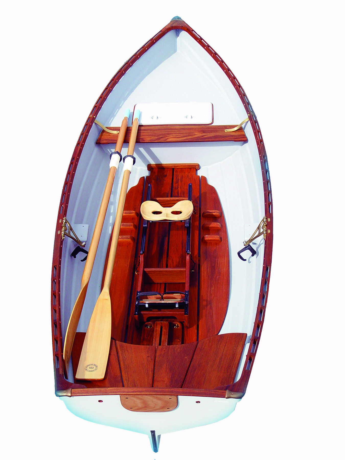 Tyee-Spirit-14-Single-Slide-Seat-Sculling-Rowboat-Whitehall-Rowing-and-Sail