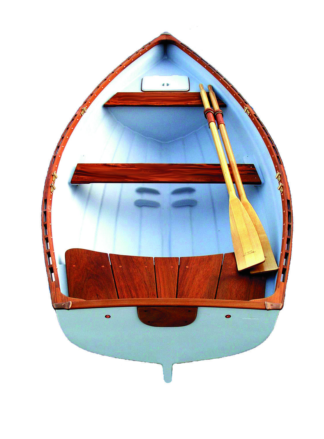 Westcoast-11-6-Traditional-Rowboat-with-Fixed-Seats-Whitehall-Rowing-and-Sail