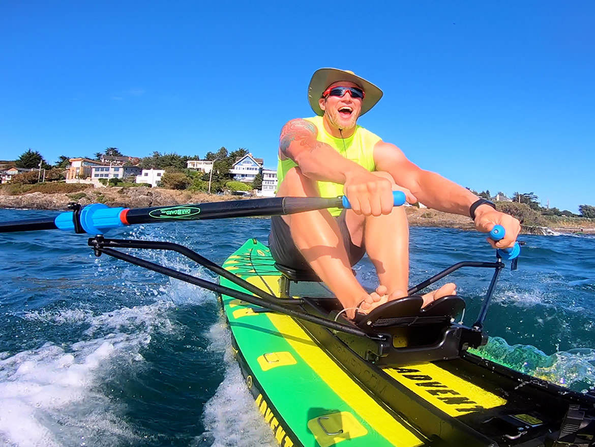 Oar Board® at McNeill Bay Enterprise, Rowing Fitness, Fun & Adventure