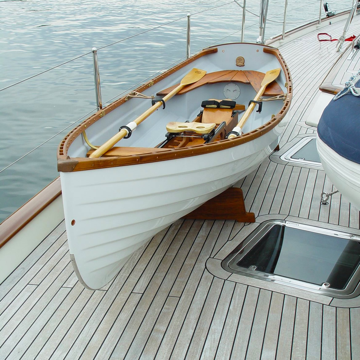 Whitehall-Spirit-14-on-deck-of-yacht-rowboat-sailboat-Whitehall-Rowing-and-Sail-1170