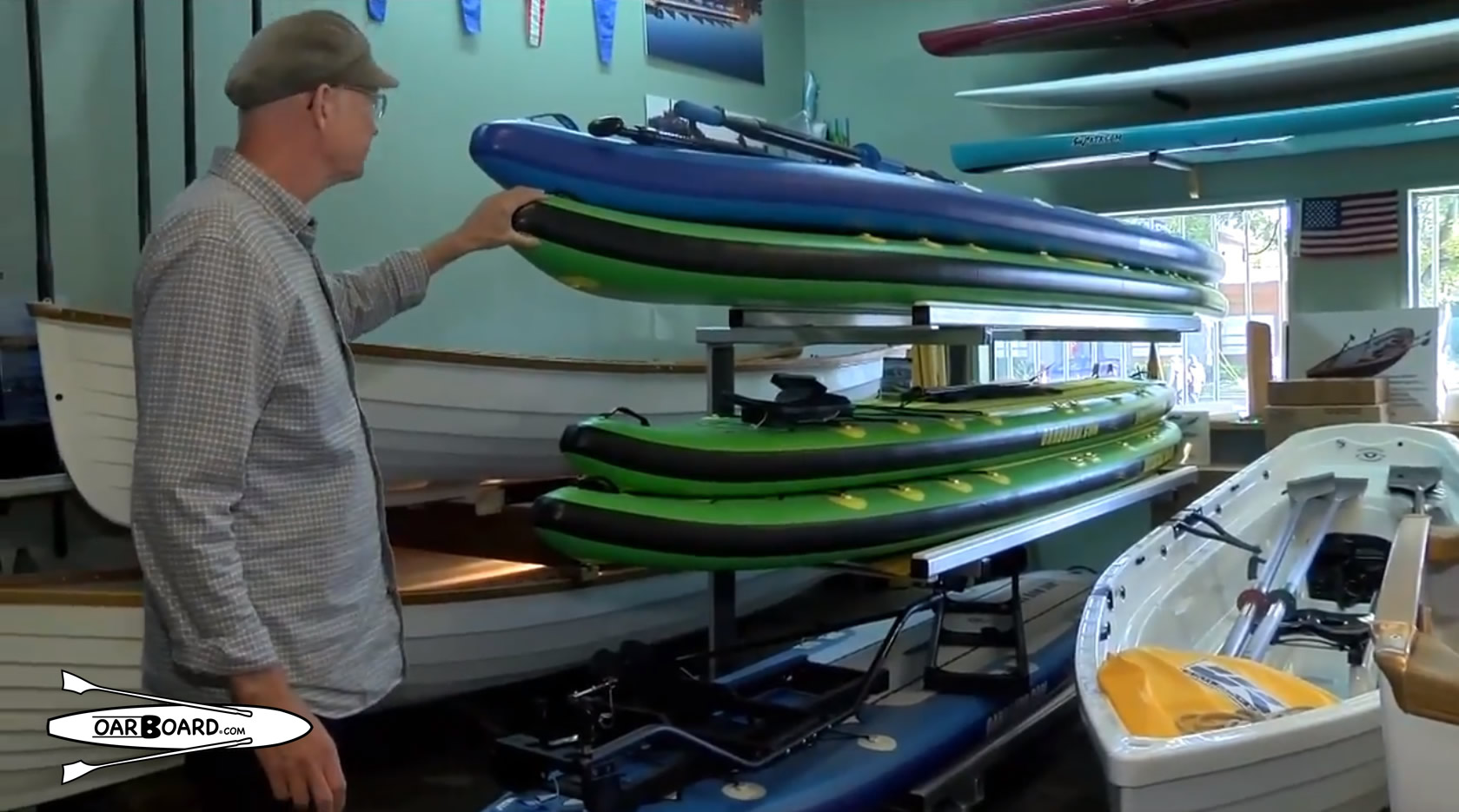 Oar Board rowing and paddle boards, Whitehall Rowing & Sail